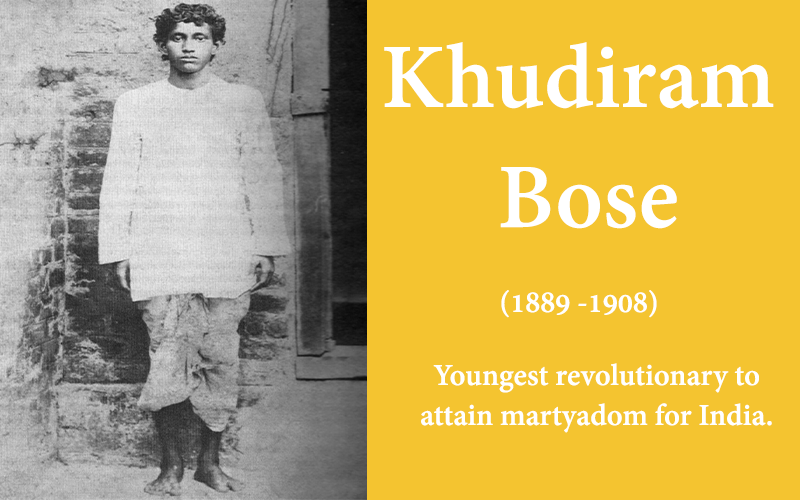 Khudiram Bose the boy revolutionary who smiled at death